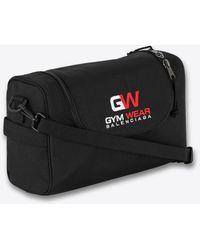 Balenciaga Gym Wear Bag In Nylon Onesize - Black