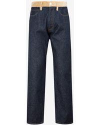 Marni Straight Leg Denim Jeans 29 - Blue