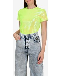 MM6 by Maison Martin Margiela - All-over Sequin Top - Lyst