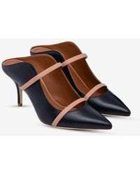 Malone Souliers Maureen 70 Leather Mules - Black