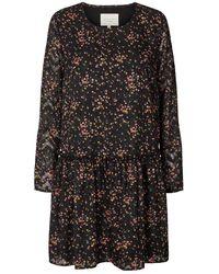 Lolly's Laundry Gili Printed Dress - Black