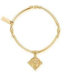 ChloBo - Ariella Lioness Signet Bracelet - Lyst
