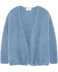 American Vintage Boolder Long Sleeve Cardigan - Blue