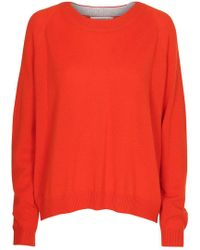 Custommade• Casja Cashmere Jumper - Red