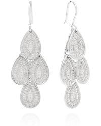 Anna Beck Xl Chandelier Earrings - Metallic