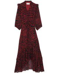 Ba&sh Selena Dress - Red