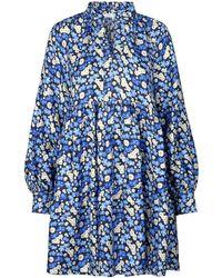 Stine Goya Jasmine Silk Dress - Blue
