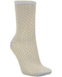 Becksöndergaard Dina Small Dots Socks - Yellow