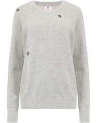 Sundry - Embroidered Stars Raglan Jumper - Lyst