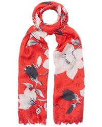Lily and Lionel - Magnolia Silk Scarf - Lyst