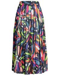 Olivia Rubin Esme Sequin Skirt - Blue