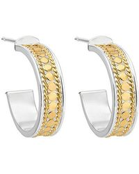 Anna Beck - Hoop Post Earrings - Lyst
