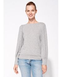 Sundry - Puff Sleeve Top - Lyst