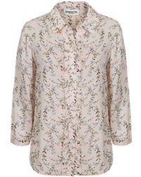 Essentiel | Pia 3/4 Length Sleeve Floral Shirt | Lyst