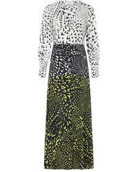Hayley Menzies - Midaxi Silk Dress - Lyst