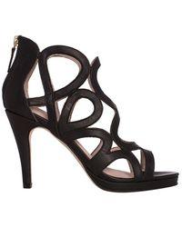 Sargossa Redefined Suede Heels - Black