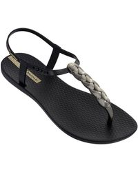 Ipanema Charm Braided Sandal 21 - Black