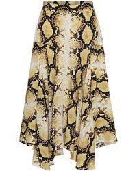 Custommade• Vila Skirt - Yellow