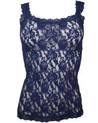 Hanky Panky Signature Lace Camisole - Blue