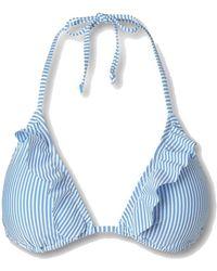 Becksöndergaard Striba Ailis Bikini Top - Blue