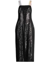 Olivia Rubin Greta Sequin Dress - Black