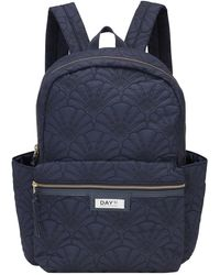 Day Et Day Gweneth Q Fan Back Pack - Blue