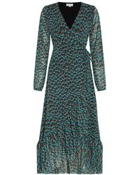 FABIENNE CHAPOT Natasja Frill Dress - Blue