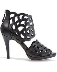 Sargossa Inspire Leather Heels - Black