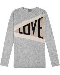 ORWELL + AUSTEN Love Cashmere Blend Jumper - Grey