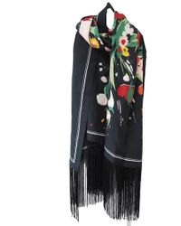 Lily and Lionel - Houston Silk Scarf - Lyst