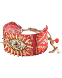 Mishky Evil Eye 2.0 Bracelet - Red