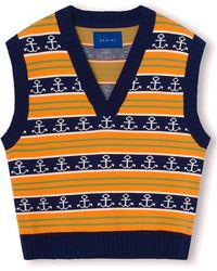 Résumé Gordon Knitted Vest - Orange