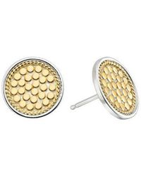 Anna Beck - Signature Circle Stud Earrings - Lyst
