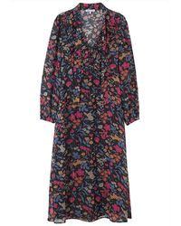 Lily and Lionel 70s Maxi Dress - Black