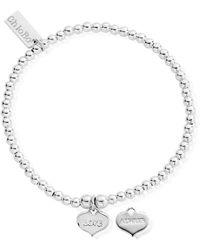 ChloBo - Cute Charm Bracelet With Love Always Heart Charm - Lyst