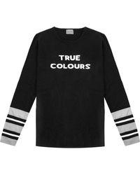 ORWELL + AUSTEN True Colours Jumper - Black