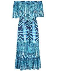 Beachgold - Pari Midi Dress - Lyst