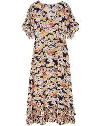 Lily and Lionel Fran Silk Dress - Multicolour