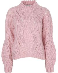 Stine Goya Alex Misty Knit Sweater - Pink