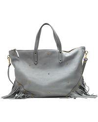 Mercules Carpenter Fringe Bag - Gray