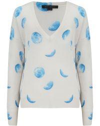 360 Sweater Lumi Cashmere Jumper - Blue