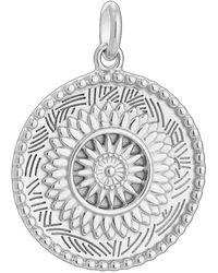 Kirstin Ash Traveller Coin Charm - Metallic