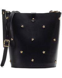 Mercules Alamo Stars Bucket Bag - Black