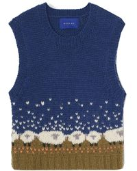 Résumé Gerdars Knitted Vest - Blue