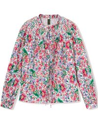 Résumé Gabe Floral Printed Cotton Shirt - Multicolour