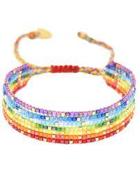 Mishky Rainbow River Beaded Bracelet - Multicolor