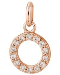 Kirstin Ash - Bespoke Crystal Circle Outline Charm - Lyst