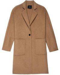 Rails - Everest Wool Mix Coat - Lyst