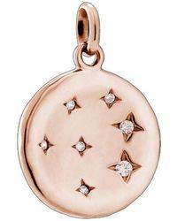Kirstin Ash Constellation Circle Charm - Metallic