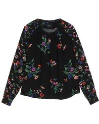 Idano - Topinambour Floral Top - Lyst